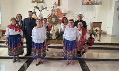 Msza św. dziękczynna w intencji parafii za zbiory.